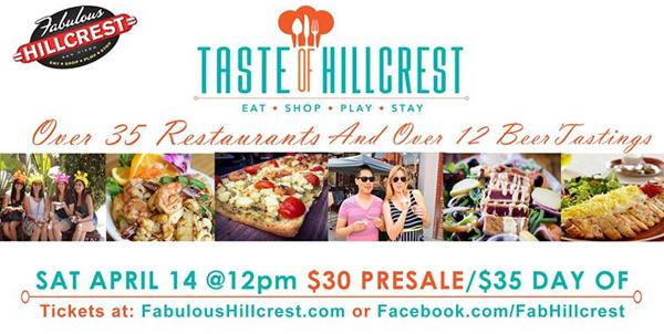 taste of hillcrest