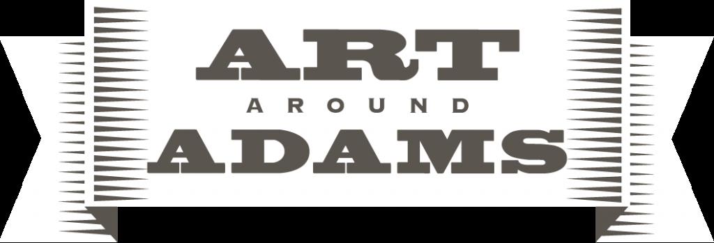 Art Around Adams event poster