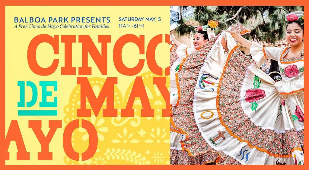 Cinco de Mayo festival in Balboa Park