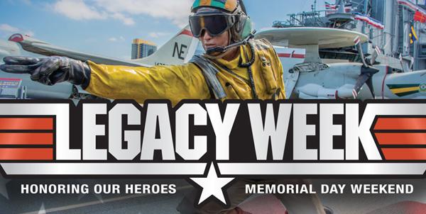 legacy week USS Midway Museum