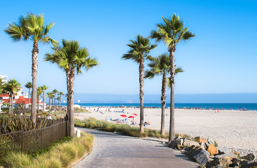 coronado beachfront
