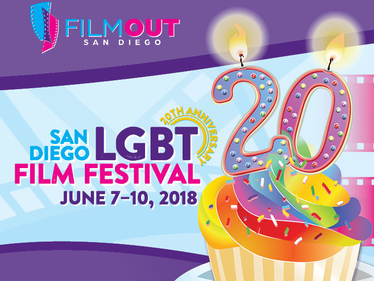 Ad for FilmOut San Diego LGBT Film Festival