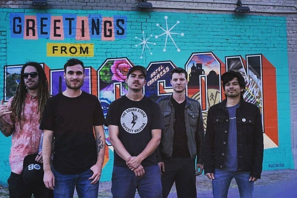 San Diego local band Tape Heads