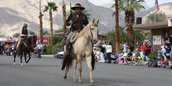 October San Diego County events: Borrego Days parade with man on horse