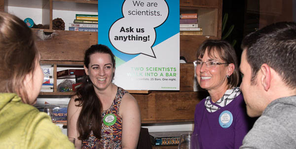 Fleet Science Center's October San Diego event, Two Scientists Walk Into A Bar