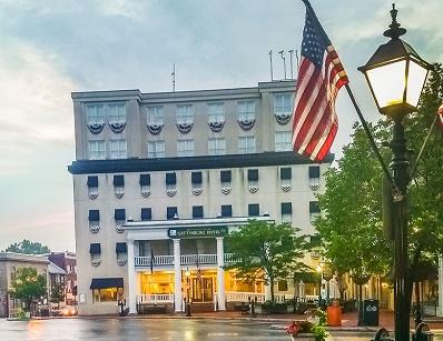Downtown Gettysburg PA