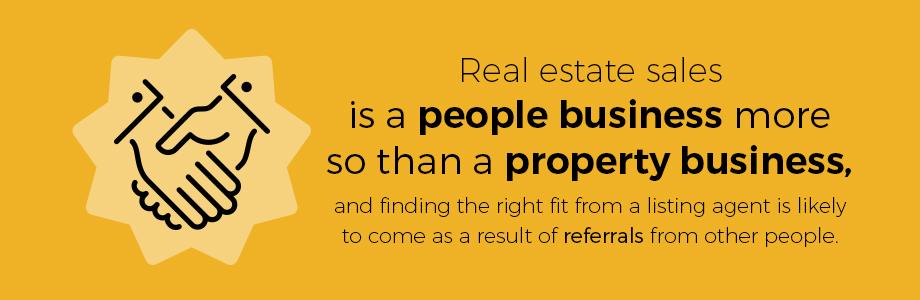 Get Referrals to find agent