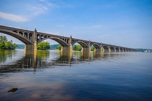 Columbia–Wrightsville Bridge, aka: Veterans Memorial Bridge