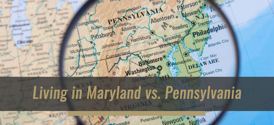 Moving Guide: Should I live in Maryland or Pennsylvania?
