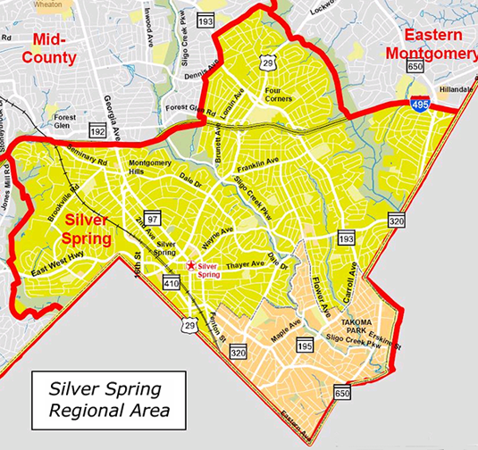 Silver Spring  Montgomery County Real Estate  Dart Homes