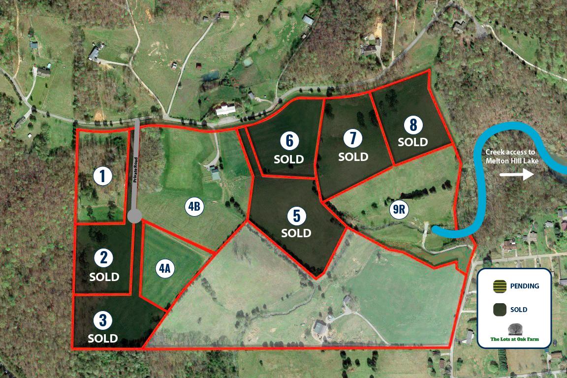 Oak Farm - Available Lots - Kingston TN