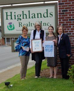 Best of Abingdon, VA 2018 Highlands Realty