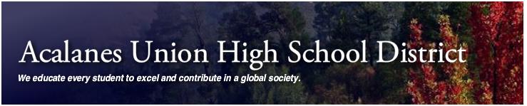 Acalanes School Dist Logo