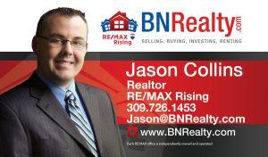 Jason Collin Realtor RE/MAX Rising The BN Realty Group Bloomington IL