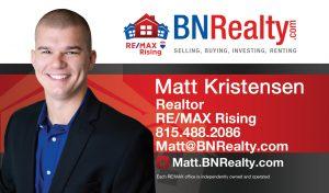 Matt Kristensen Realtor RE/MAX Rising Bloomington IL
