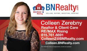 Colleen Zerebny Realtor RE/MAX Rising Bloomington IL