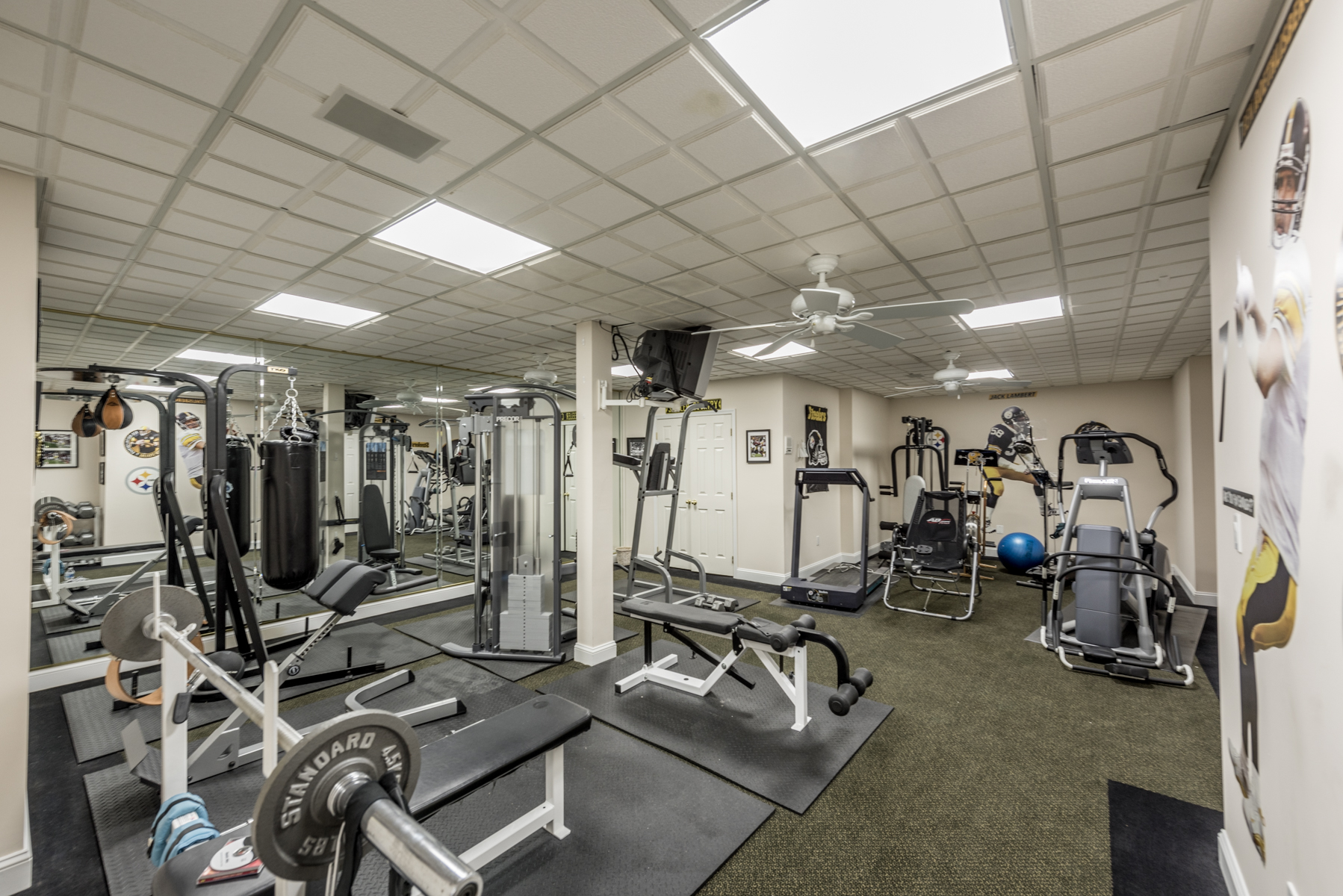Marcos ultimate man cave gym