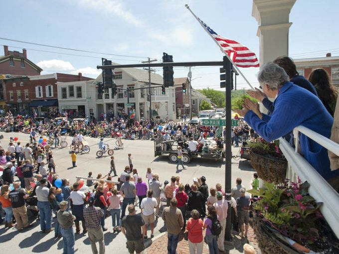 May 25, 2016 - Memorial Day Parade at Vergennes, VT (photo)