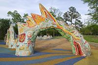 Fannie Mae Dees Park pfmd 0705-06-2278 Dragon