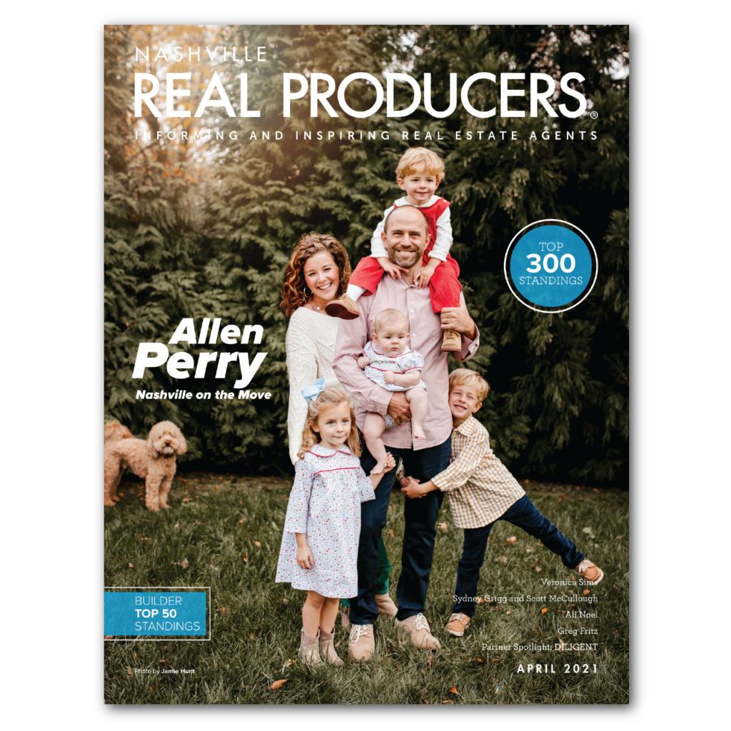 Allen Perry Magazine Cover