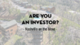 Are you an Investor?