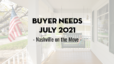 Buyer Needs | July 2021