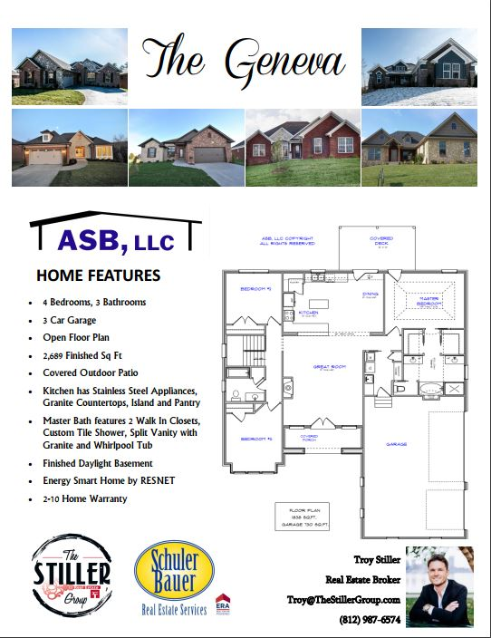 Asb Floor Plans Southern Indiana Amp Kentucky Area Real