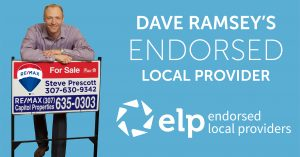 Steve Prescott Dave Ramsey ELP RE/MAX Cheyenne WY