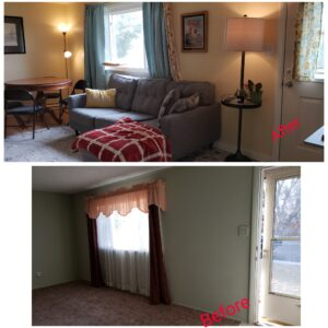 Before and After Home Picture RE/MAX Capitol Properties