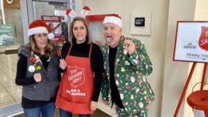 RE/MAX Capitol Properties agents ringing for Salvation Army
