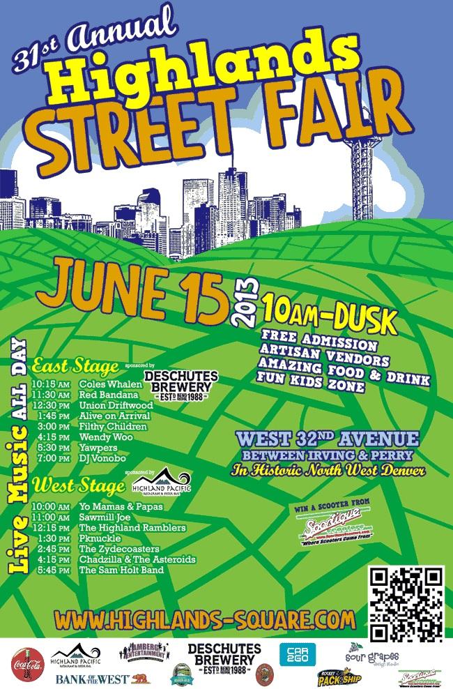 Highlands 31st Annual Street Fair