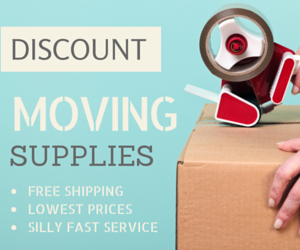 discount moving.