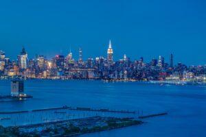 Manhattan Views from Portofino Jersey City