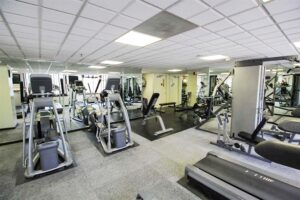 Fitness center at Portofino Jersey City