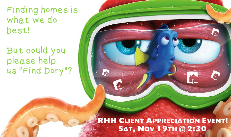 RHH Finding Dory Octopus