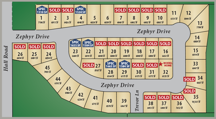 Silver Lake Village - one level homes new construction cowlitz county