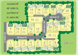 Winston Estates Plat Map
