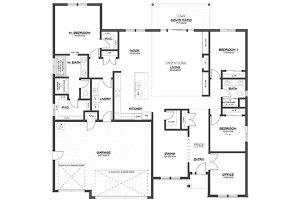 2400 floor plan by Glavin Homes