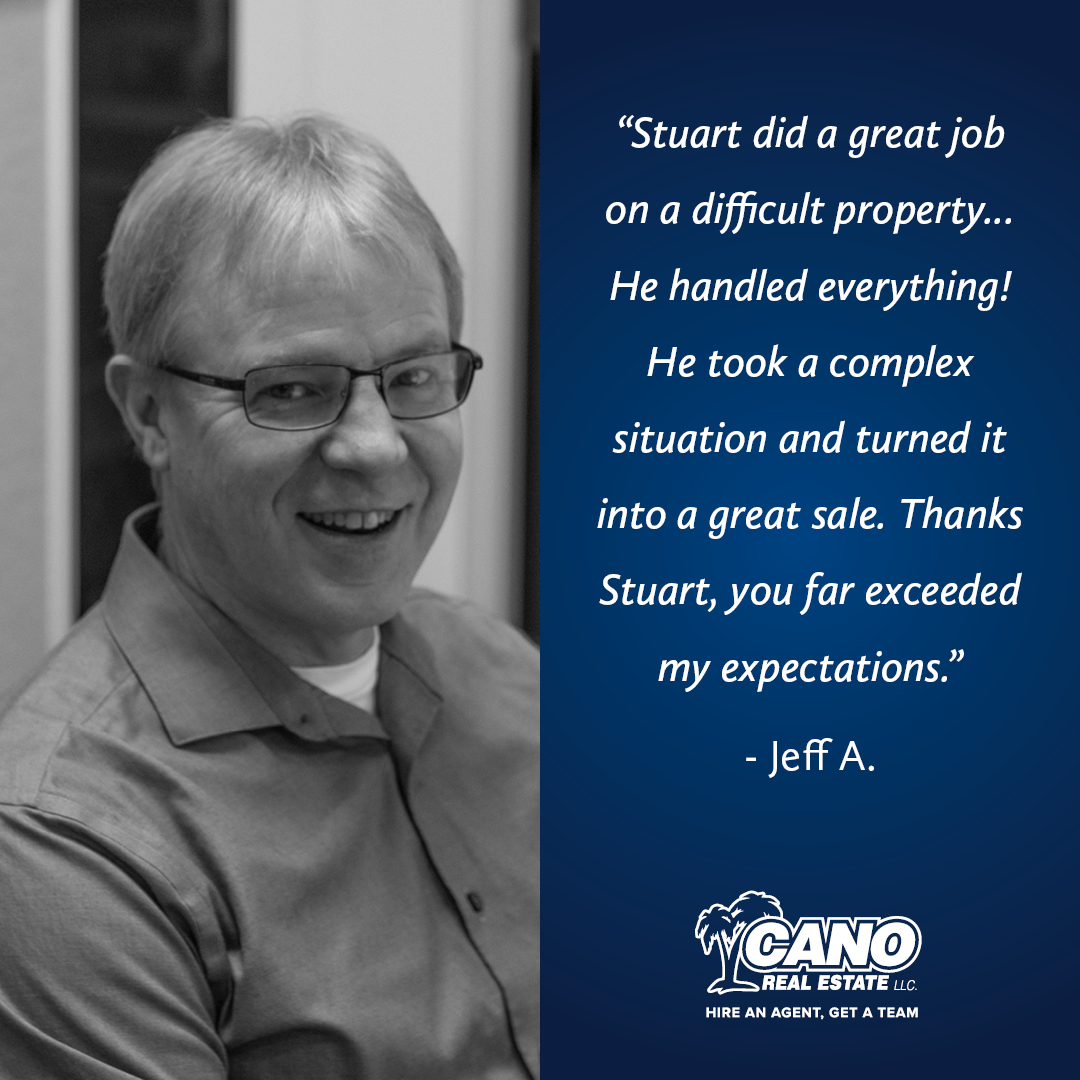 Stuart Pomeroy Exceeds Client Expectations