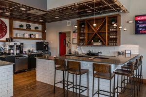 Creed Coffee interior wine bar