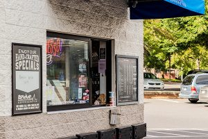 Revive Coffee Drive-Thru Window