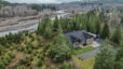 Aerial view of 510 Cornell Rd, Toutle, WA 98649 in Steelhead Landing. Property backs to Toutle River
