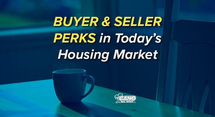 Buyer and seller perks in Today's Housing Market