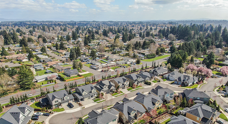 Aerial view of 10510 NW 31st Ave in Erickson Farms