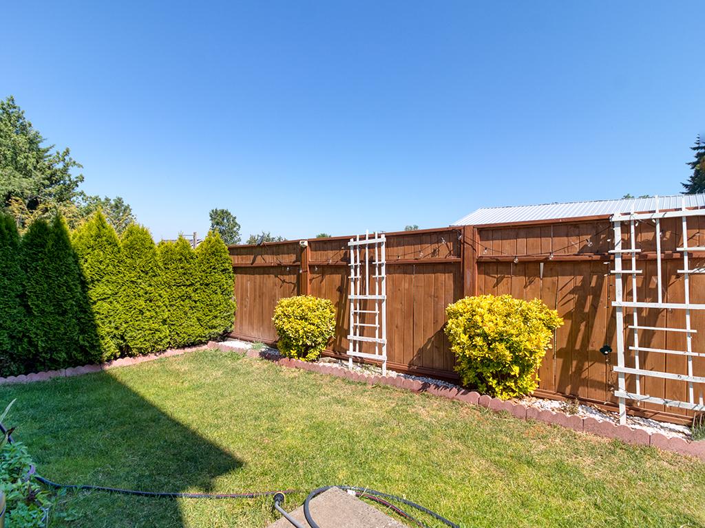 Fenced backyard - 1116 W 35th Way, Vancouver, WA 98660