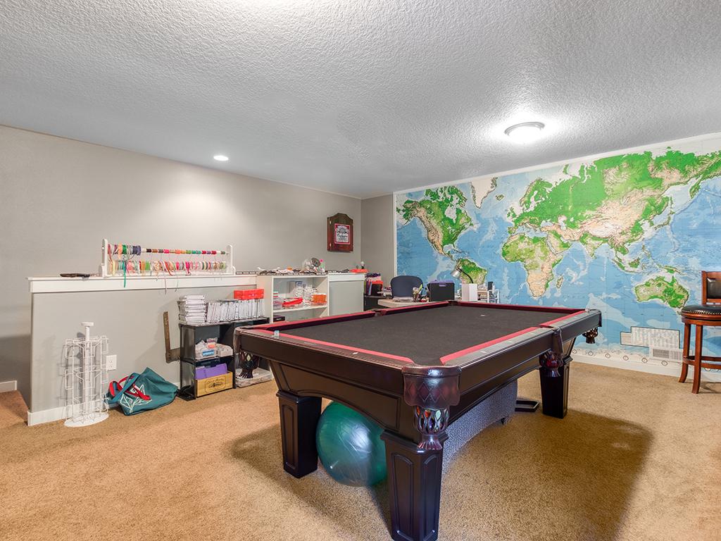 Bonus room/fitness center upstairs - 36806 NE Holling Ave, La Center WA 98629