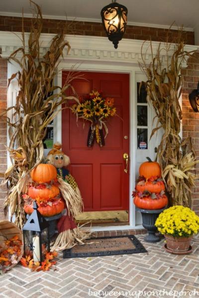 fall-front-porch-pumpkin-topiaries