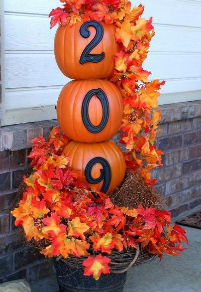 pumpkin-house-number