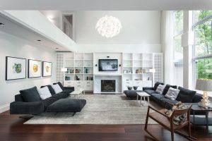 adorable-interior-living-room-amusing-white-built-in-open-cabinet-living-room-photo-white-and-black-living-room