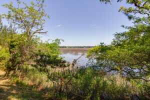 Marsh to broad creek views at 38 Compass Point